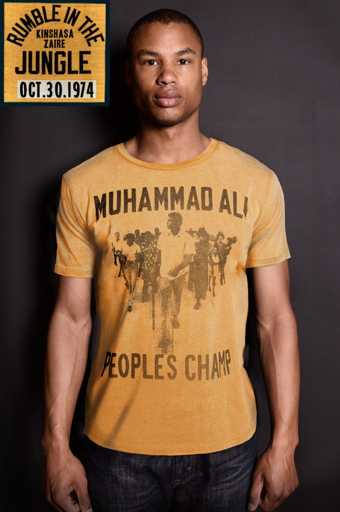 Ali Rumble - People's Champ Zaire Tee