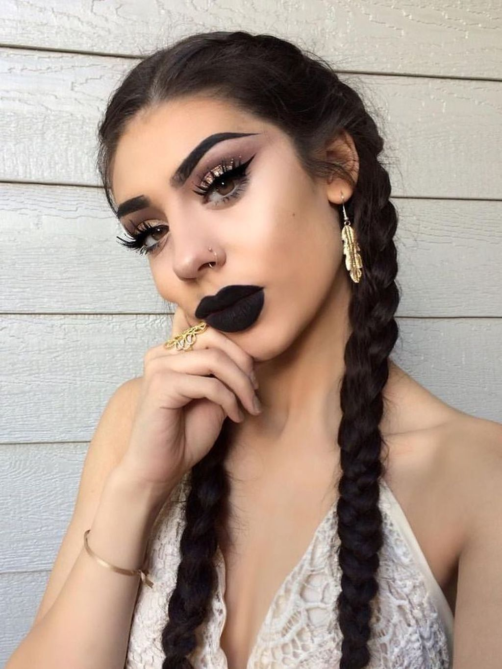 36 Best Dark Lipstick For Fall Winter Look Black Lipstick Makeup
