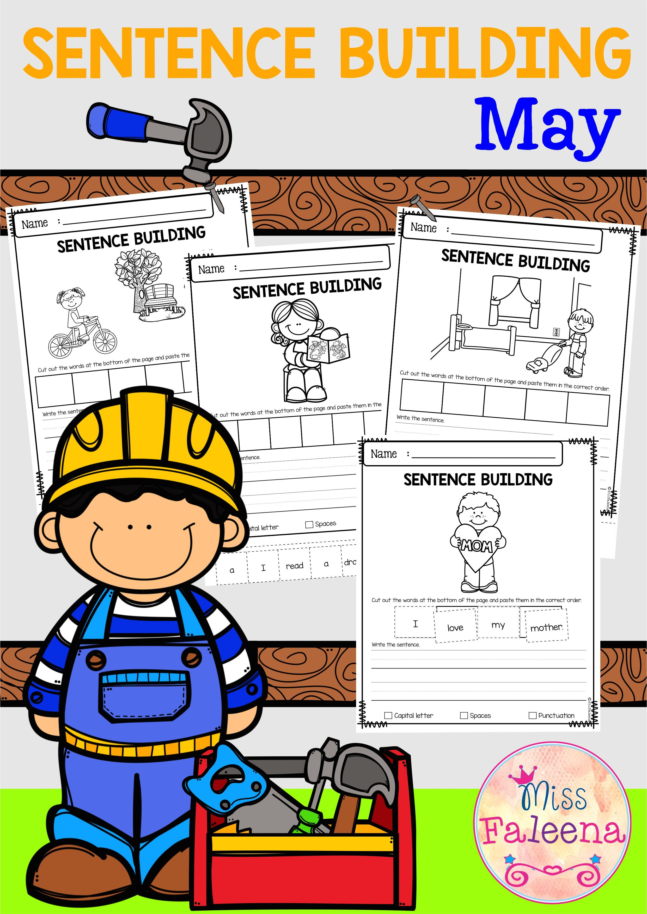 May Sentence Building With Images