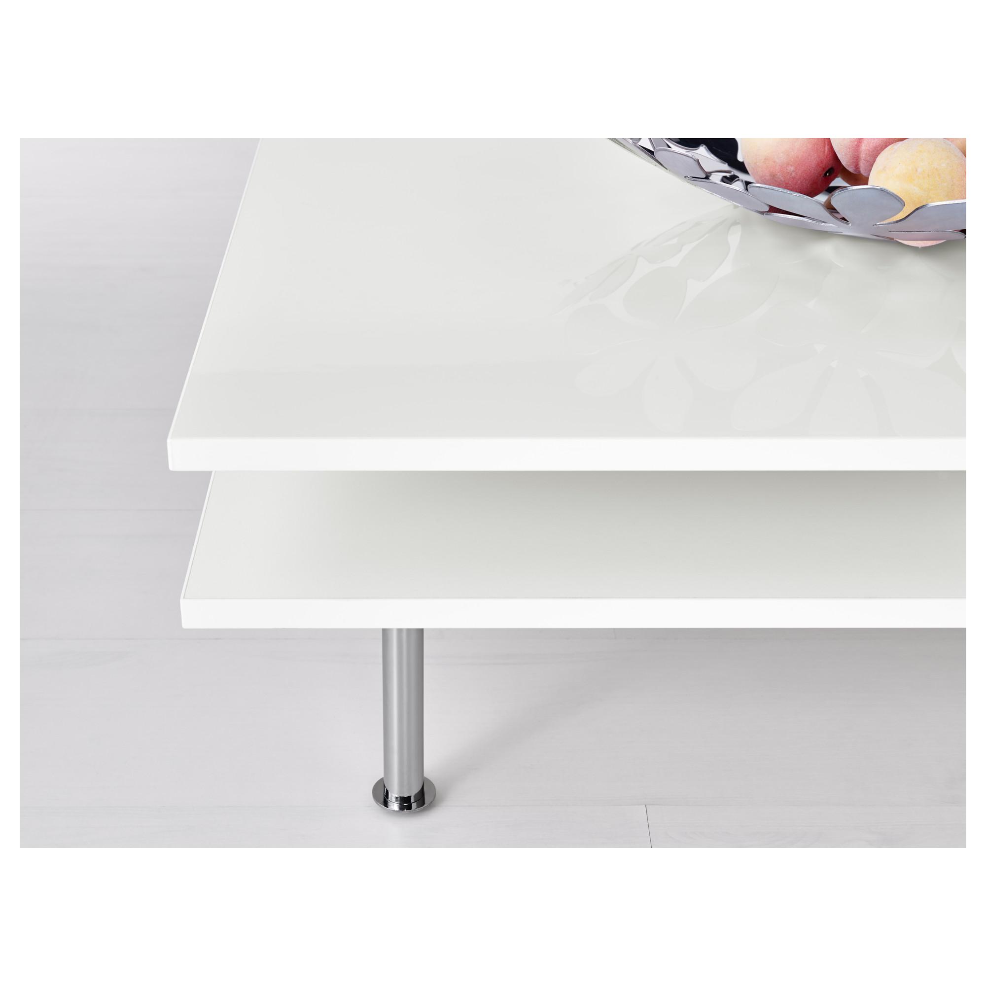 TOFTERYD Coffee table high gloss white IKEA Coffee