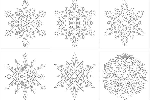 Dibujos navideños para colorear   Pinterest   Mandala