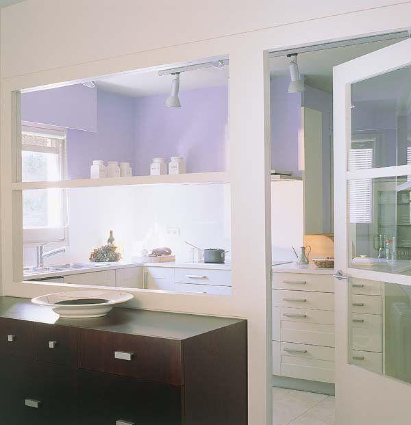 Ventana pared cocina pasaplatos buscar con google - Pasaplatos cocina ...