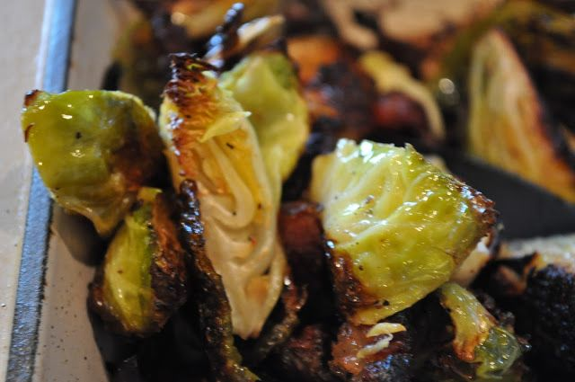 hey what's for dinner mom?: Bacon Roasted Brussels Sprouts