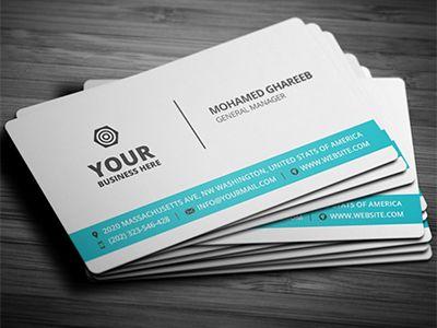 Best Business Cards 2020.55 Best Psd Business Card Templates Business Card Design