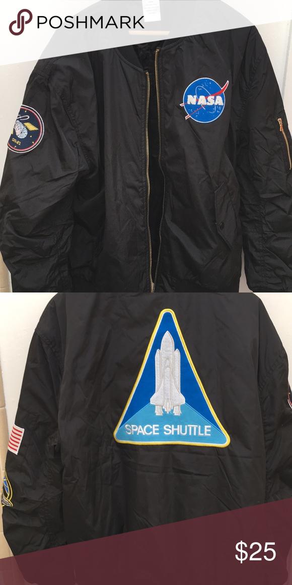4c1cd5249 Men's NASA bomber jacket Men's NASA bomber jacket with patches ...