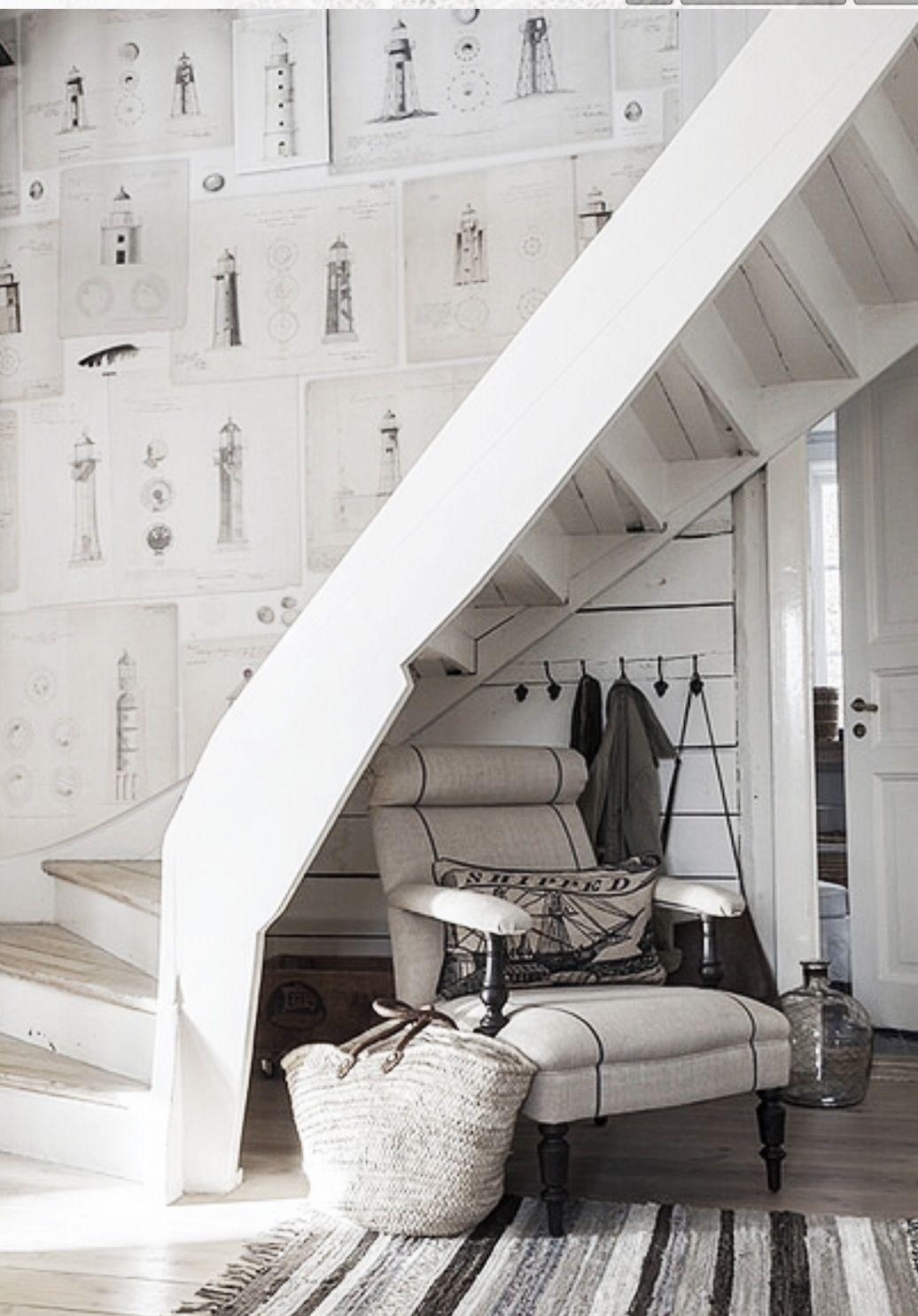 Wohnideen Treppenaufgang pin maude b pomerleau auf home wohnideen flur