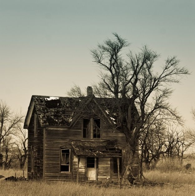 Creepy Old Houses, Abandoned Houses, Old