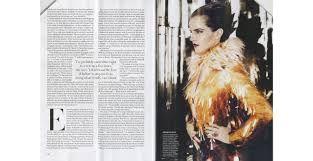 Image result for vogue magazine layout