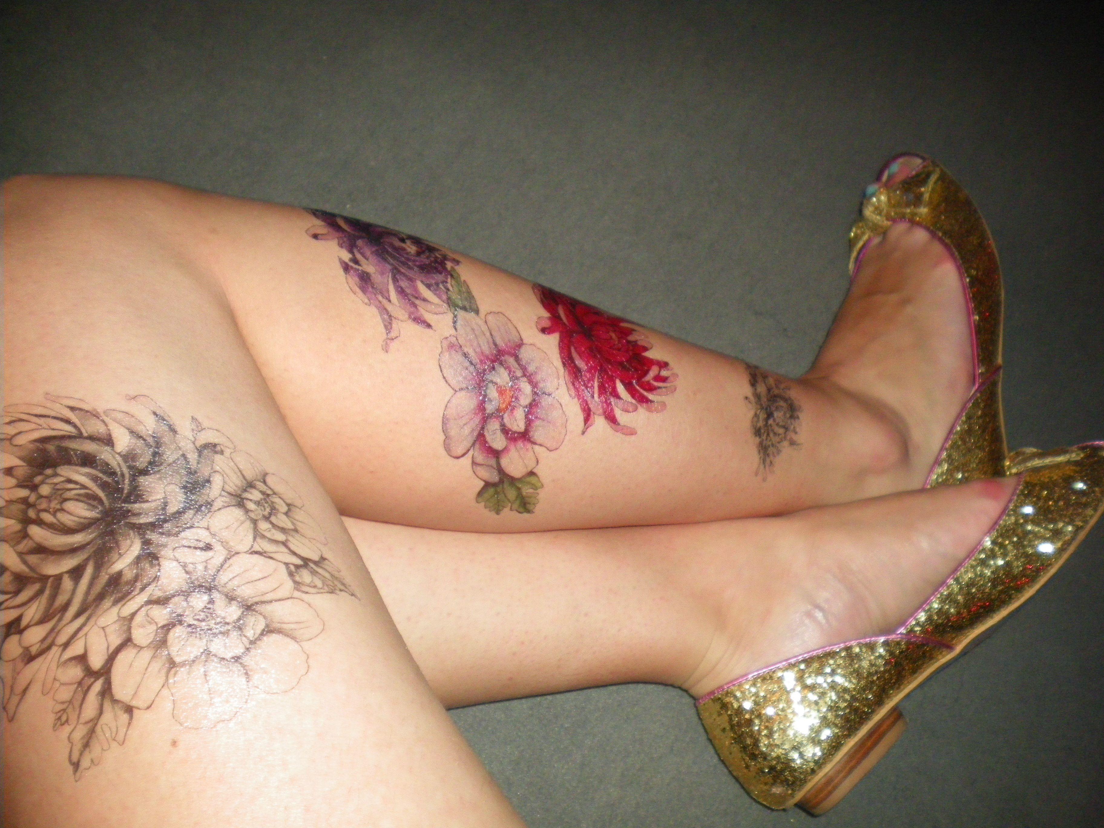 My face tattoo : Urban Decay