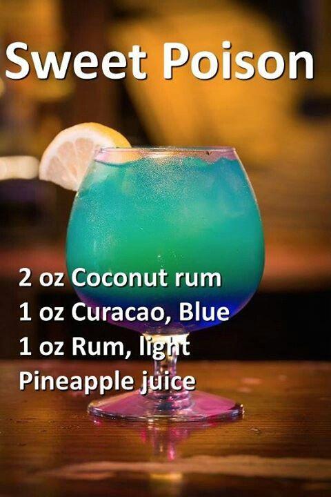 Adult drinks | kat | Pinterest | Getränke, Blau und Gifte