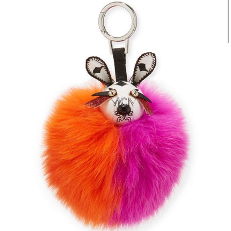 Mcm Rabbit Fur Punk Charm For Bag Nib   Products   Pinterest ... c18dd1b0a5