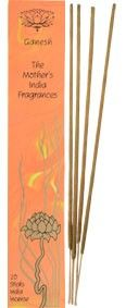The Mothers India Fragrances Ganesh Incense full length sticks: Ganesh is a rich, sumptuous and feminine fragrance that has proven to be incredibly popular. It's happy and harmonising. A modern fragrance reminiscent of a musky perfume. http://www.theremustbeabetterway.co.uk/the-mothers-india-fragrances-ganesh-incense-full-length-sticks.html