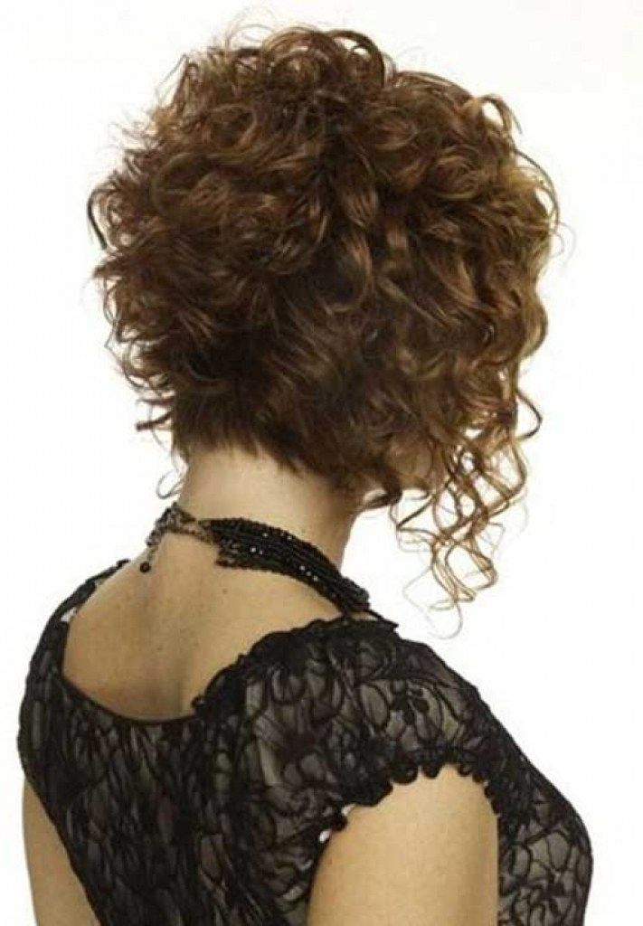 Inverted Bob Haircut Naturally Curly Hair Cosmetik