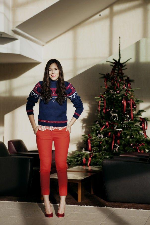 Per Verde Vestiti Natale Glitter Le Feste Rosso E 13 Looks ZW1qRwxHdq