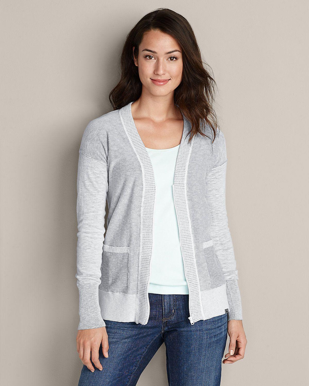 Boyfriend Cardigan Sweater | Eddie Bauer | Clothes | Pinterest ...