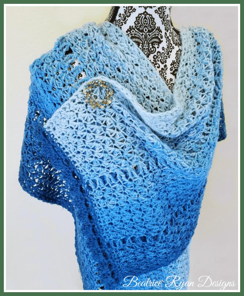 Winter Walk Shawl... Free Crochet Pattern