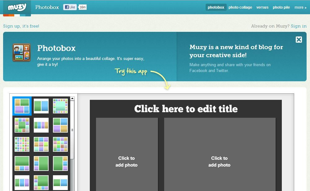 Photo Box http://muzy.com/app/photobox?source=apps_page