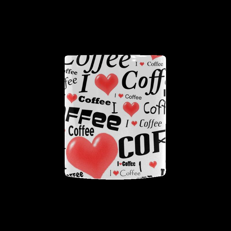 I love coffee Custom Morphing Mug.Your true love