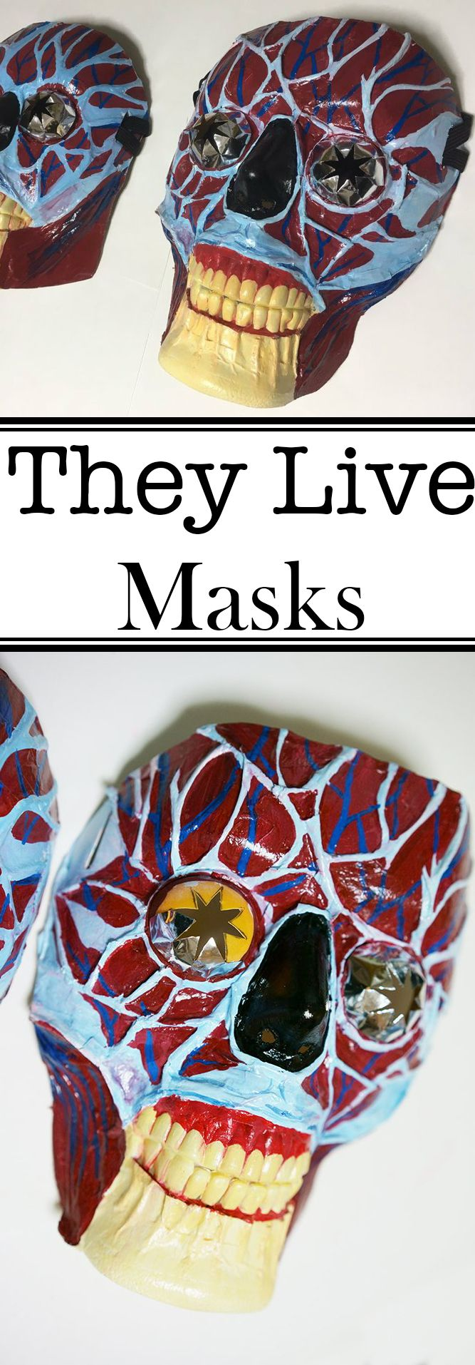 They Live Costumes Masks for Glasses Wearers, Secret