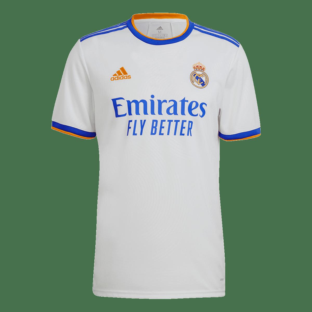 Adidas Real Madrid Herren Heim Trikot 2021 22 Weiss Fussball Shop In 2021 Real Madrid Real Madrid Shirt Real Madrid Soccer