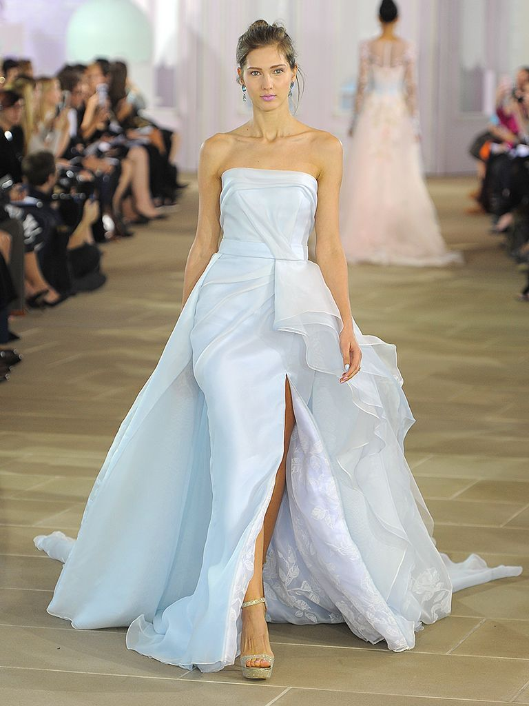 Atractivo Wedding Dresses With Blue Embellecimiento - Ideas de ...