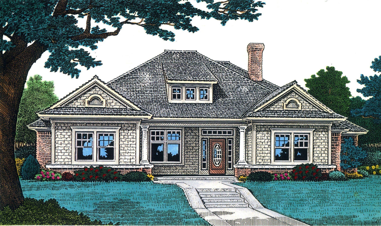 Plan 48339fm Bungalow House Plans Bungalow Style Floor Plans One Level House Plans