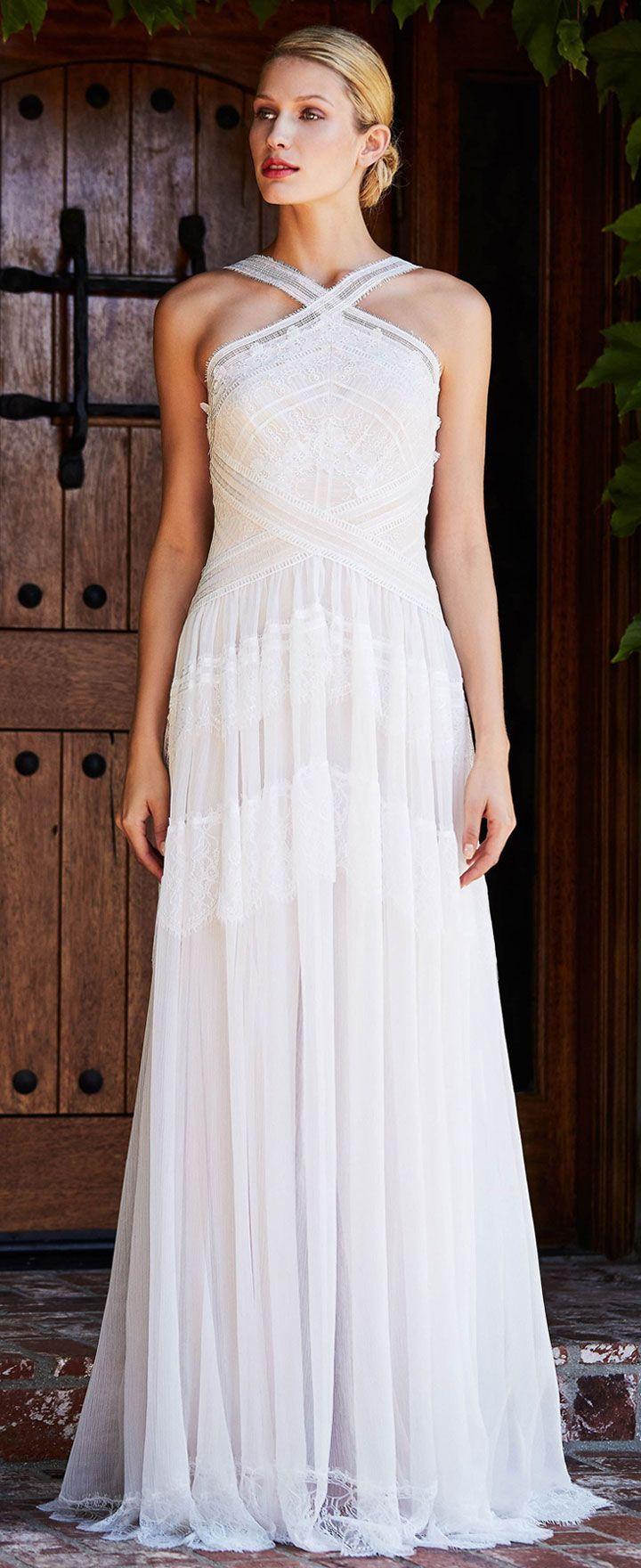 Tadashi Shoji Bridal Fall 2018 Wedding Dress Collection | Tadashi ...