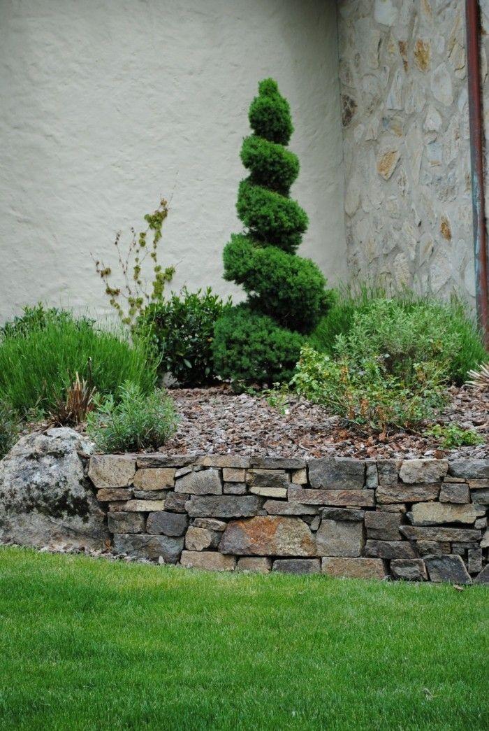 Wunderbar Steingarten Anlegen Modern Stilvoll Und Naturnah