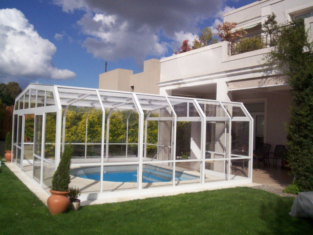 Cubiertas para piscinas techos para piletas for Techos para albercas