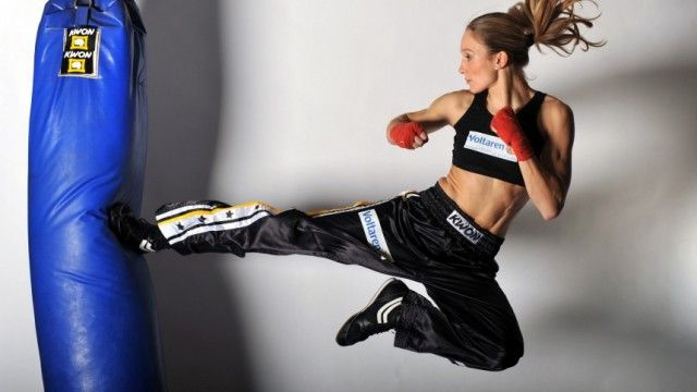 Christine Theiss. German female kickboxer. Since 2007, she is the world champion in professional full contact kickboxing in the World Kickboxing Association (WKA). On December 7, 2012, she became the Super lightweight world champion in full contact kickboxing of the International Sport Karate Association (ISKA) and World Kickboxing and Karate Union (WKU).