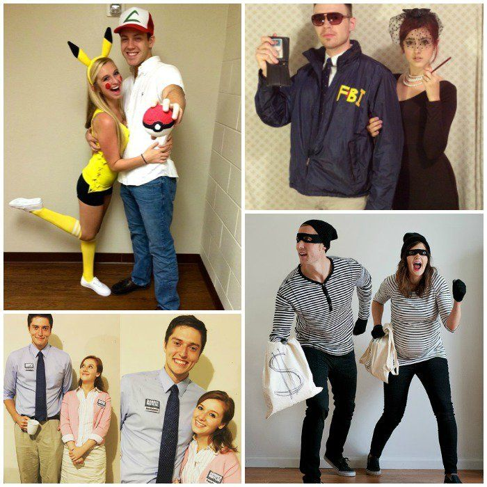 Last Minute Nye Ideas: 17 DIY Couples Costumes That Will WIN Halloween