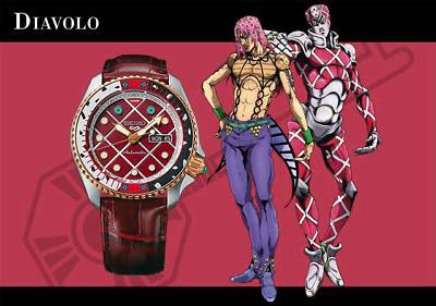 PSL SEIKO 5 SPORTS JoJo's Bizarre Adventure Limited Wrist