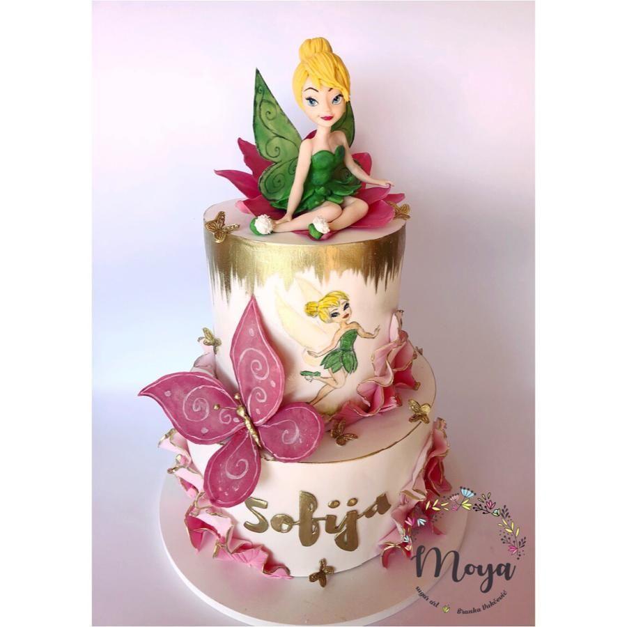 Tinkerbell Cake Tinkerbell Cake Tinkerbell Birthday Cakes Fairy Birthday Cake
