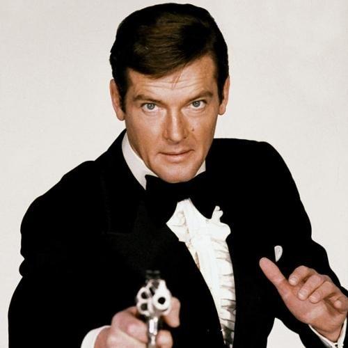 Roger Moore's James Bond.