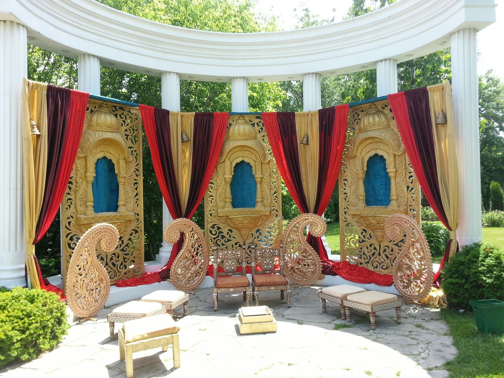 Toronto Indian outdoor Wedding Paradise Banquet Hall