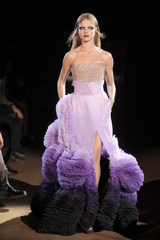 Le top natalia vodianova en 50 looks natalia vodianova for 50 haute couture