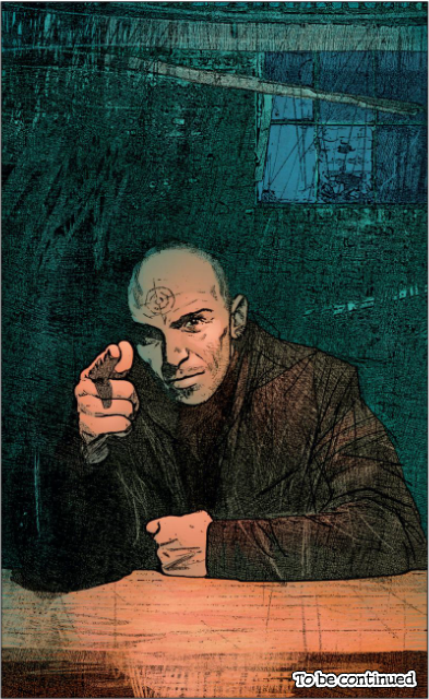 Bullseye By Alex Maleev Comic Art Marvel Comics Art Marvel Knights