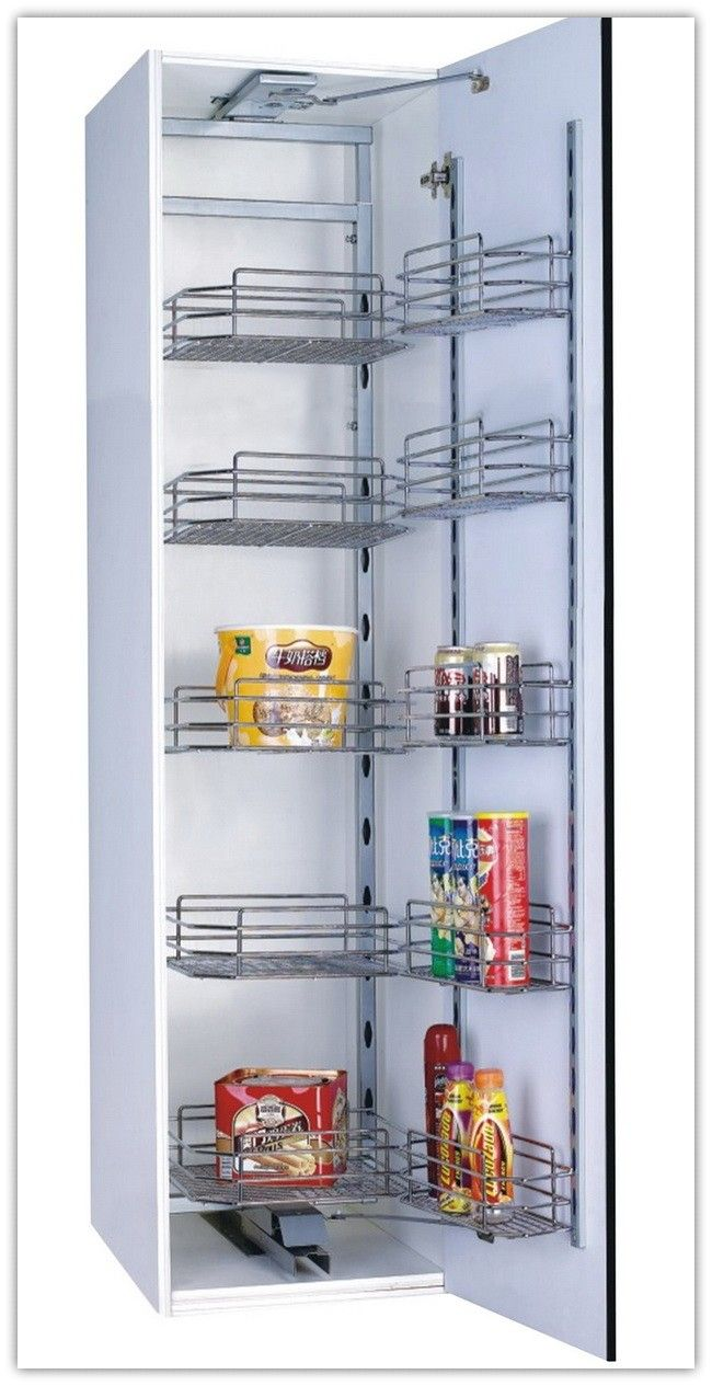 Best Kitchen Storage Excel Tandem Pantry Unit Wire Basket 400 x 300