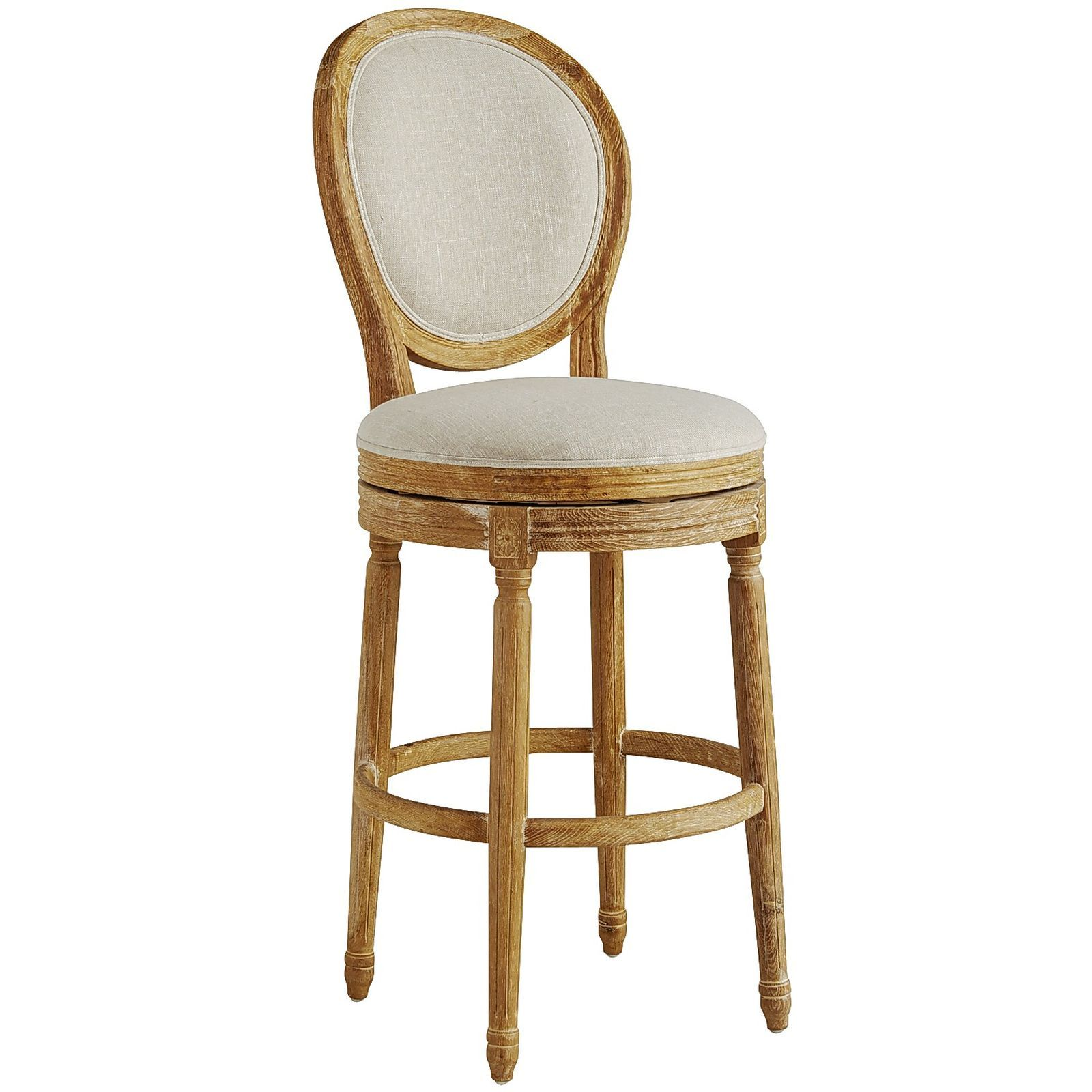 Eliane Swivel Bar Stool Flax Pier 1 Imports