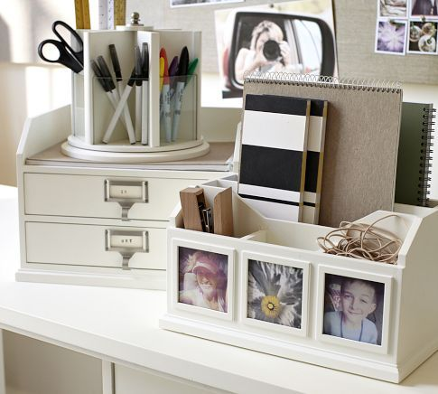Bedford Desk Accessories By Pottery Barn For On Top My