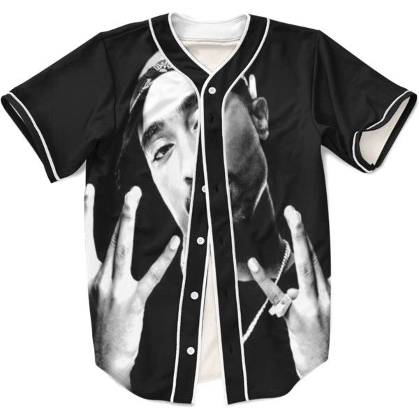 2pac Legends Jersey 55 Liked On Polyvore Featuring Tops Unisex Tops Jersey Top And Baseball Jerseys Clothes Clothes Design Jersey Top