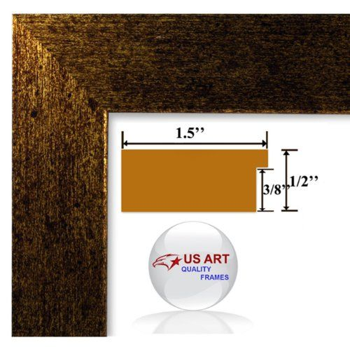 12x36 Brushed Copper Brass Finish Picture Poster Frame 15 Inch Wide Mdf Check This Awesome Product By Going To The Lin Poster Frame Wall Decor Pictures Frame
