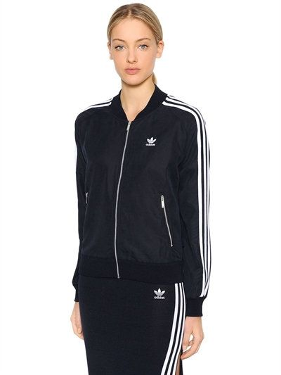 5b8f00db ADIDAS ORIGINALS Sst Zip-Up Track Jacket, Navy. #adidasoriginals ...