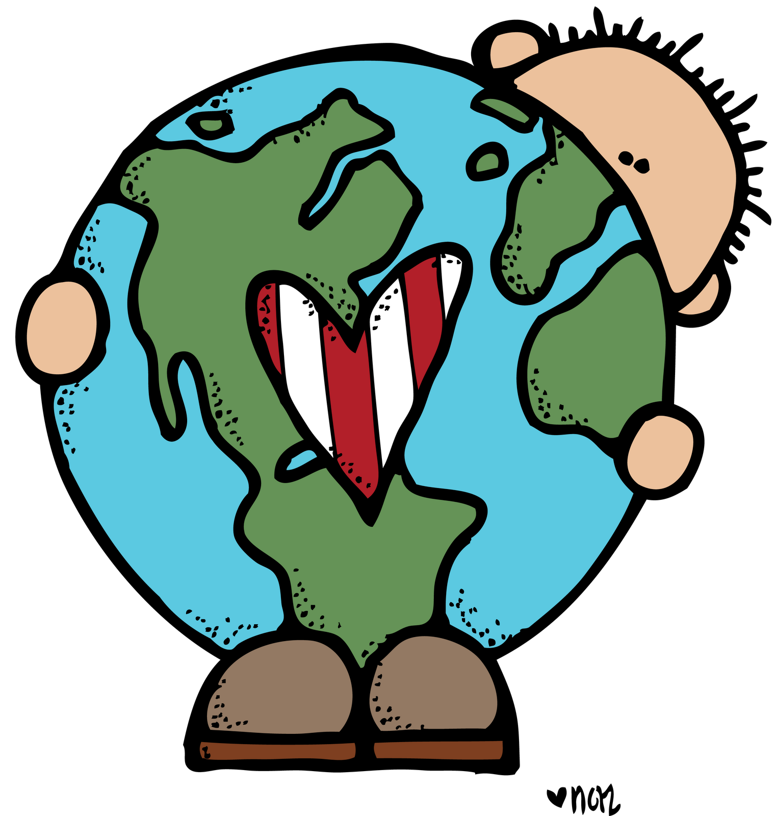 MelonHeadz: Free printable Earth day images. Colored ones for ...