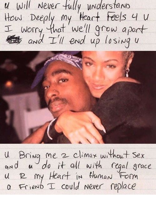 tupac, love, and 2pac image