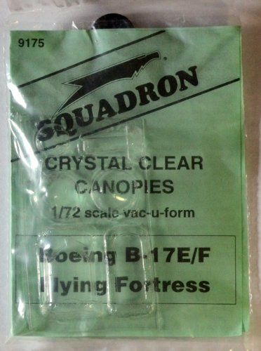 Squadron Products B17EF Flying Fortress Canopy Set -- For more information visit image link & Squadron Products B17EF Flying Fortress Canopy Set -- For more ...