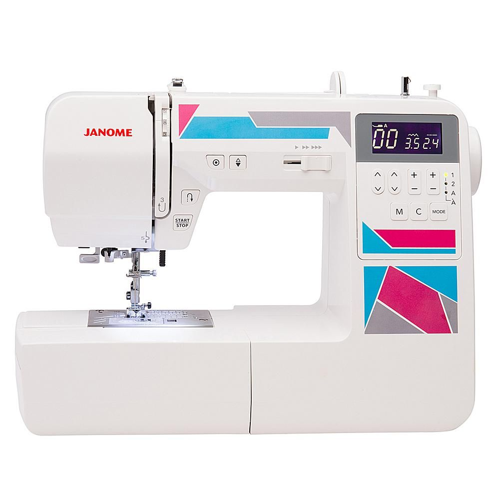 Janome Computerized Mod 200 Sewing Machine Sewing Janome Baby Blue