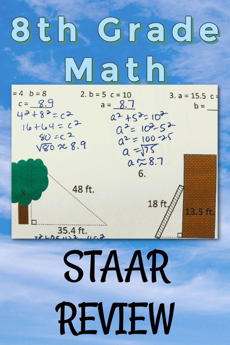 8th Grade Math Staar Review Time Flies Edu In 2021 Staar Review Math 8th Grade Math Math [ 1200 x 800 Pixel ]