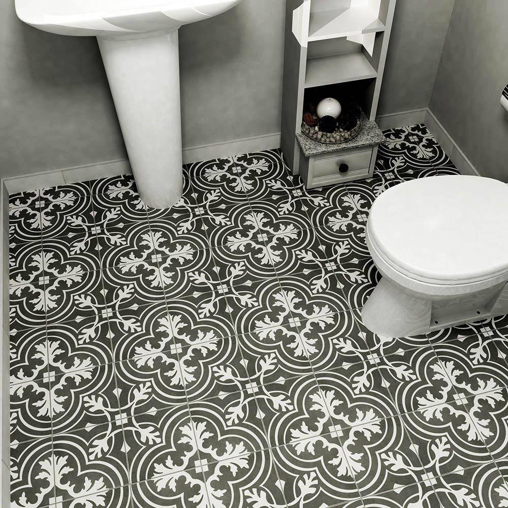 encaustic ceramic floor and wall tile