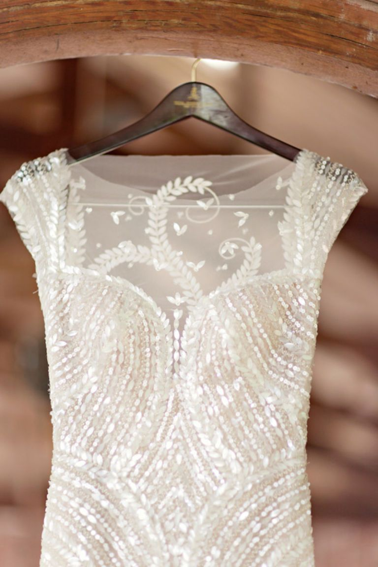 32 Bedazzled Wedding Dresses | Beaded wedding dresses and Wedding